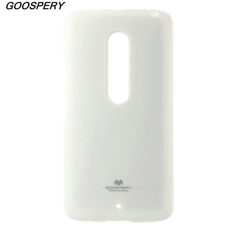 For Motorola Moto X Play Case Original MERCURY GOOSPERY Flash Powder TPU Gel Case for Motorola Moto X Play With Retail Package