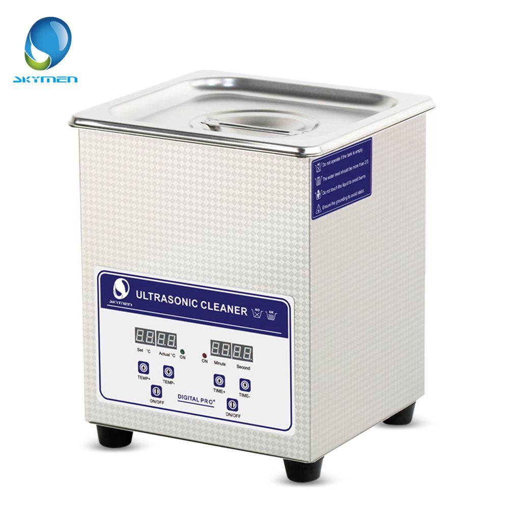 Digitale Ultraschall-reiniger Waschanlagen Körbe Schmuck Uhren Dental 2L 60 Watt 40 KHz Ultraschall Bad Ultraschall-reinigungsmaschine