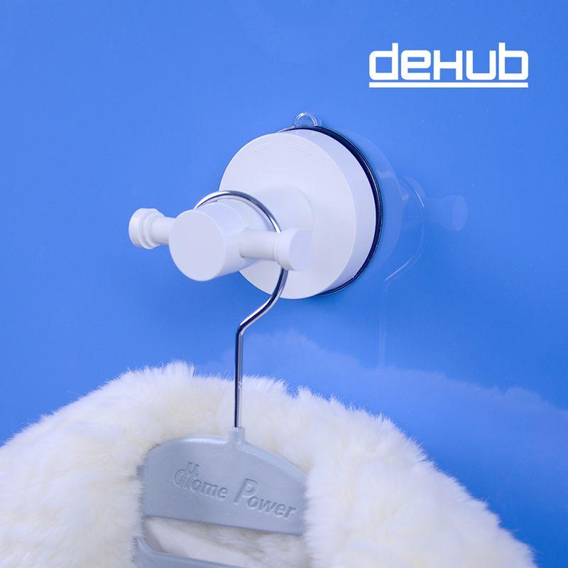 Corée DeHUB aspiration sous vide sac à main crochet étanche salle de bains décoratif mur crochet cintres pour vêtements accessoires de salle de bain