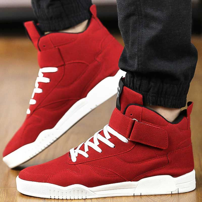 Skateboarding Shoes for Men Breathable Flats Outdoor Shoes Mens Skate Sport Sneakers Superstar Red Trainers Zapatilla Hombre Men