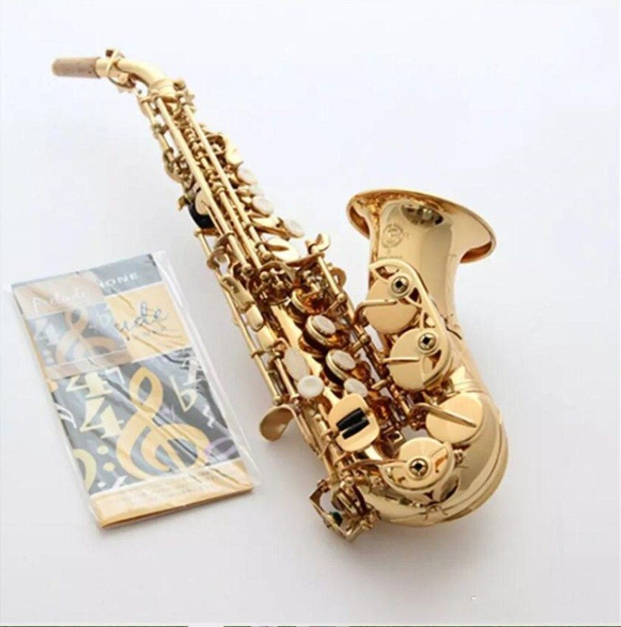 High Quality France Selmer Saxophone 54Bb instrument children adult Saxophone soprano Sax pitched small modulation curve