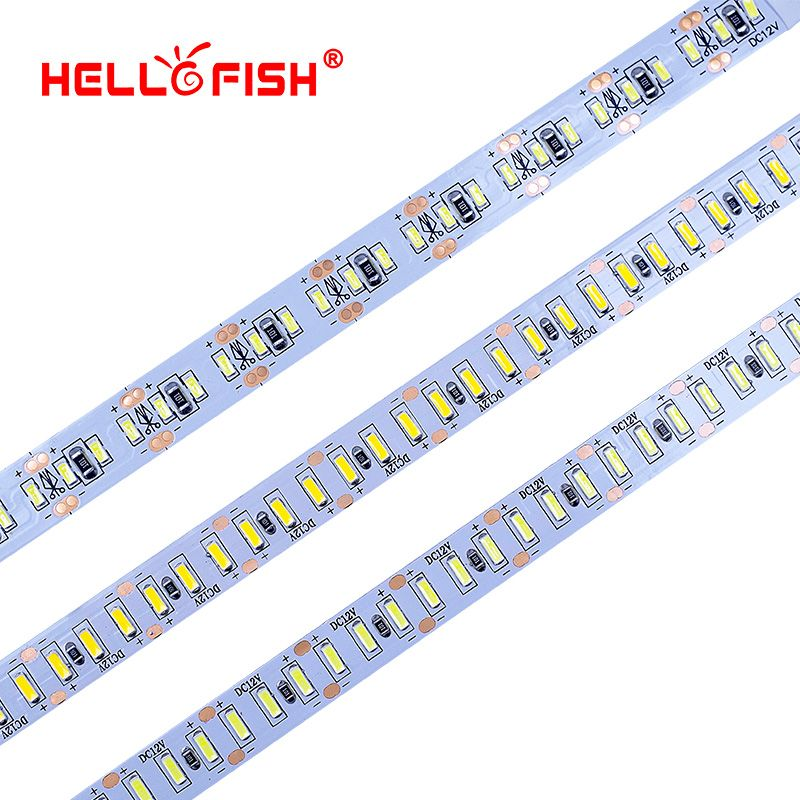 Bonjour Fish 5 M 3014 bande de LED 204 LED DC12V bande de LED Flexible bande de LED blanc clair/blanc chaud
