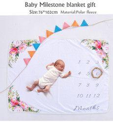 Hito Manta como Mes a mes fotografía, bebé fotografía props Manta, recién nacido fotografía props