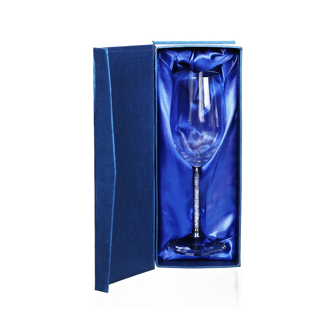 Wedding Wine Glasses 1Pcs 350ml Glasses Goblet Crystal Luxury Party Wine Glass Cup Decorations Gift Design ePacket