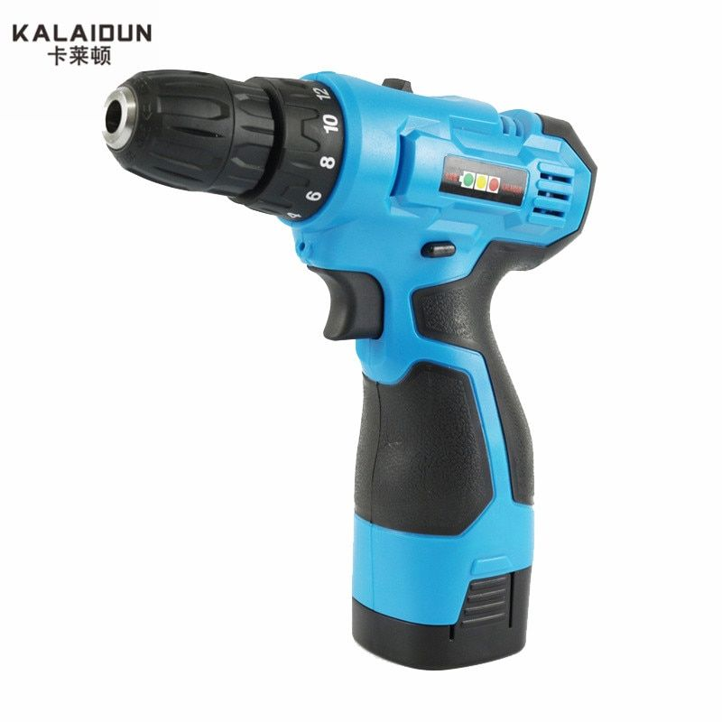 KALAIDUN 21V Mobile Electric Drill Power Tools Electric Screwdriver Lithium Battery Cordless Drill Mini Drill Hand Tools