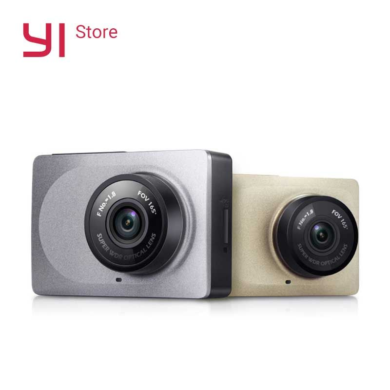 YI Smart Dash Camera WiFi Night Vision HD 1080P 2.7 165 degree 60fps ADAS Safe Reminder