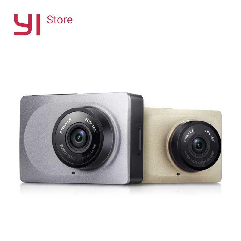 YI Smart Dash Camera WiFi Night Vision HD 1080P 2.7 165 degree 60fps <font><b>ADAS</b></font> Safe Reminder