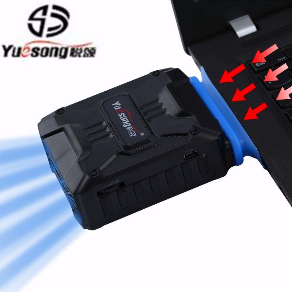 YUE SONG V6 Mini Vacuum USB Laptop Kühler Air Extrahieren Auspuff Lüfter Cpu-kühler für Notebook computer hardware kühlung