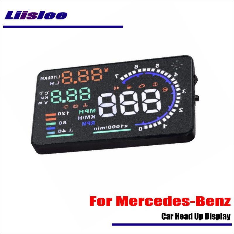 Liislee Für Mercedes-Benz C E CLA Klasse 2015 201 HUD OBD2 Auto Head Up Display Fahren Bildschirm Projektor reflektieren Windschutzscheibe