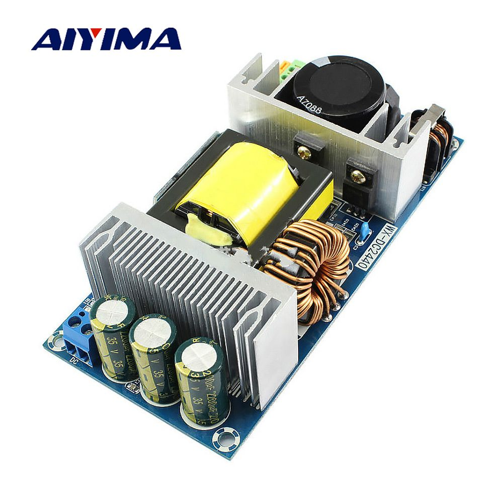 Aiyima AC-DC AC220V To DC24V 12.5A Switching Power Module Buck Isolation 300W High-power Switching Power Supply Modules