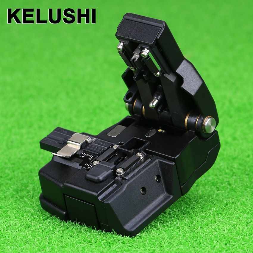 Outil de coupe de Fiber optique KELUSHI couteau de coupe de Fiber optique de haute précision pour Fiber monomode. HS-30 utilisé avec épissure