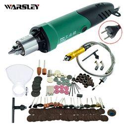 Dremel Style 480 W Mini Perceuse Électrique graveur avec 6 Position Variable Vitesse forDremel Outils Rotatifs avec Arbre Flexible et