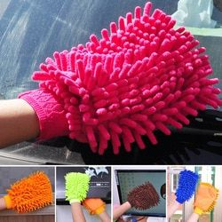 Chenille Gloves Clean Gloves Washing Towels Household Cleaning Helper Microfiber Cloth Cleaning Cloth For Car Desk office