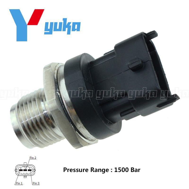 Diesel Common Rail Fuel Pressure Sensor Regulator 0281002908 0281002734 55190763 55195077 For Hyundai KIA Alfa Romeo Fiat