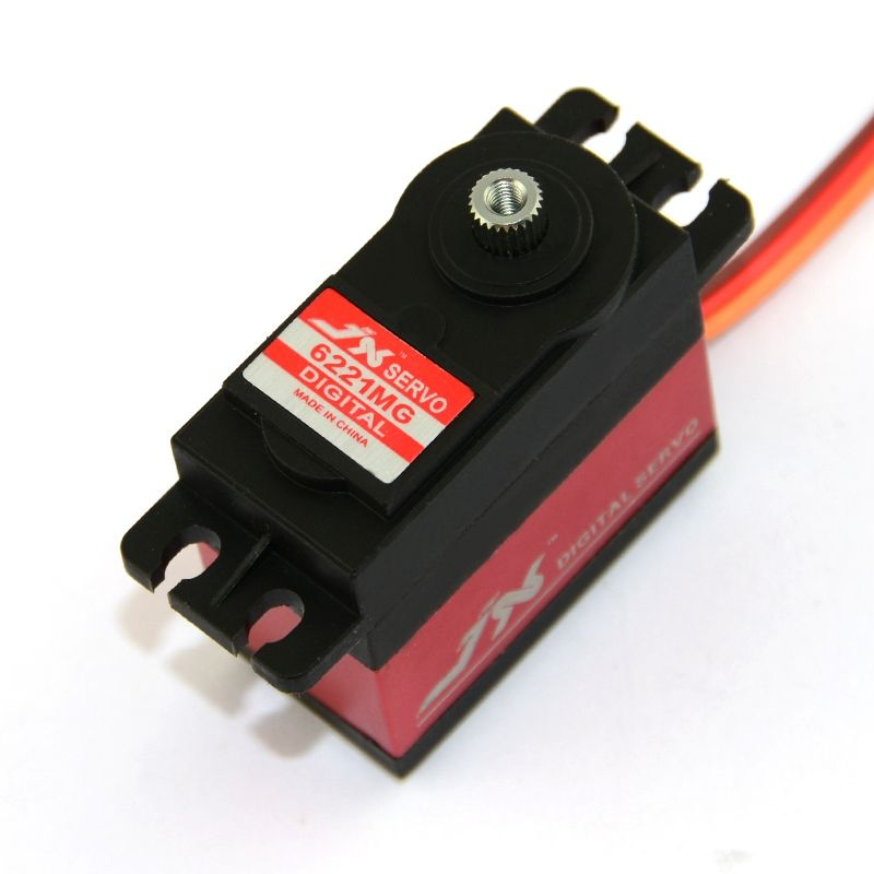 Superior Hobby JX PDI-6221MG 20KG High Precision Metal Gear Digital Coreless Standard Servo for RC model plane car