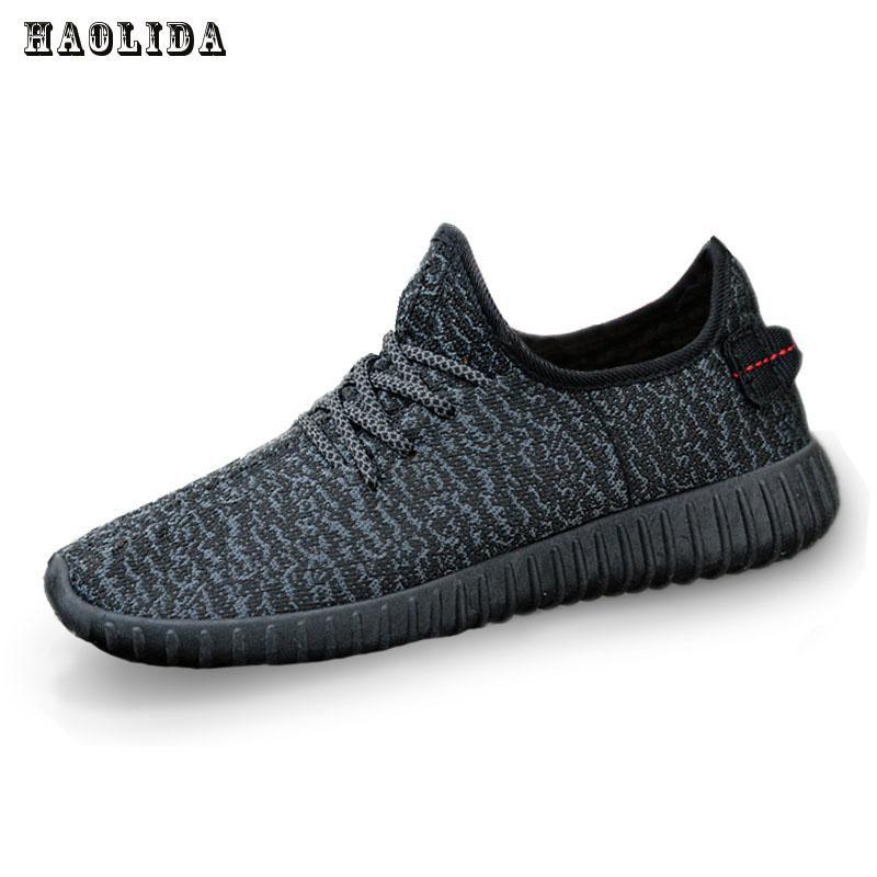 2017 Nouveau Hommes D'été Maille Chaussures Mocassins lac-up Eau chaussures de Marche léger Confortable Respirant Hommes tenis feminino zapatos