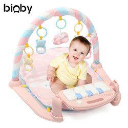 Musical desarrollo gimnasio estera alfombra niños bebé bastidor de Fitness juguetes manta música de Piano Play desarrollo intelectual