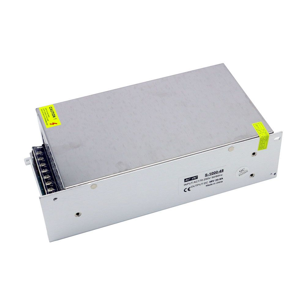 1000W High Power Dc 48V 20.8A Motor Driver Constant Voltage Power Supply