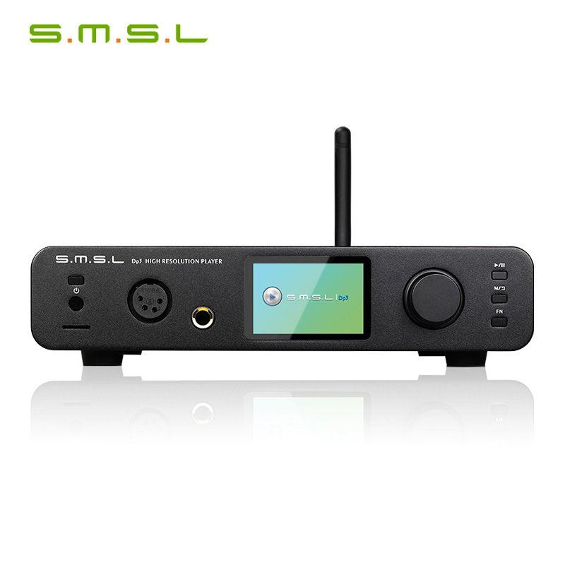 SMSL DP3 DSD HIFI Digitale Plattenspieler Festplatte Symmetrische und Unsymmetrische Kopfhörer Verstärker WIFI Netzwerk Musik Player
