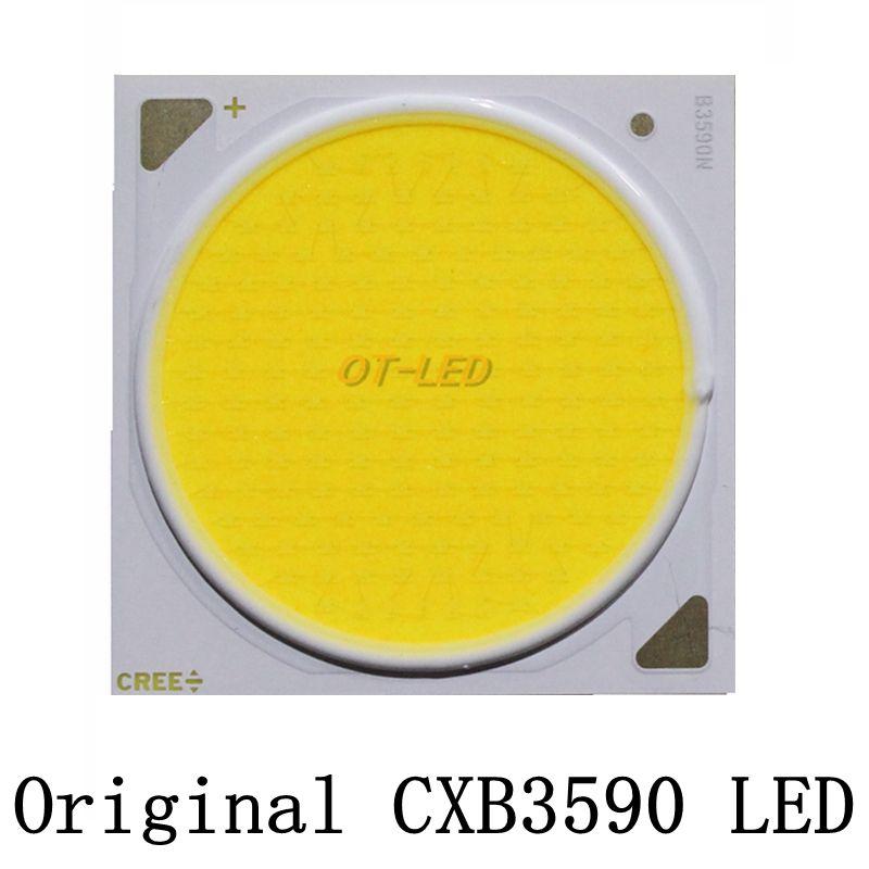 D'origine Cree COB CXB3590 CXB D'ÉNERGIE 3590 led élèvent la lumière 3000 K/3500 K/5000 K CD Bin 80 CRI 36 V cob led élèvent la lumière pour les plantes médicales