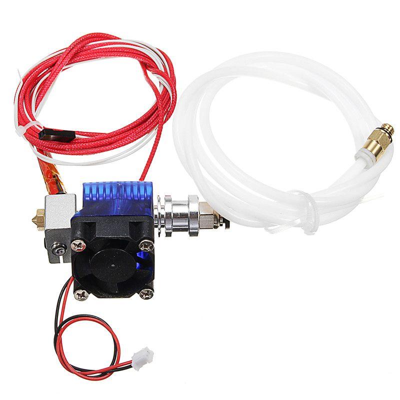 Extruder V6 Hotend All Metal Bowden extruder J-head V6 For Makerbot Reprap 3D printer parts With Fan PTFE Tube