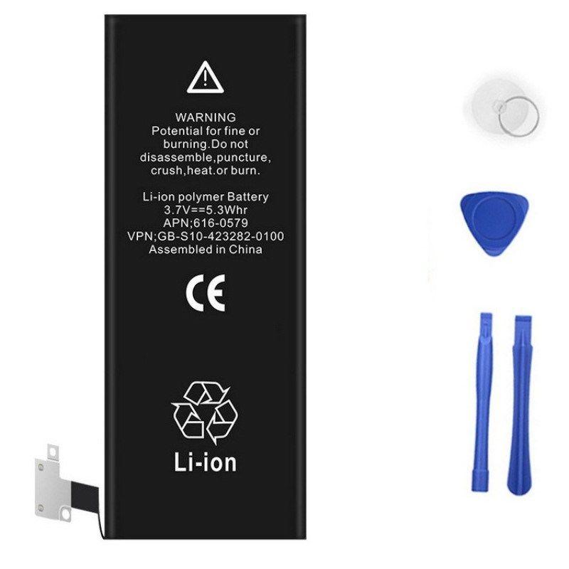 RHOADA 100% D'origine Li-ion polymère Batterie de Téléphone Pour iphone 4 4S 5 5C 5S 6 6 S Plus Avec Machine Outils Kit Mobile Batteries Cas