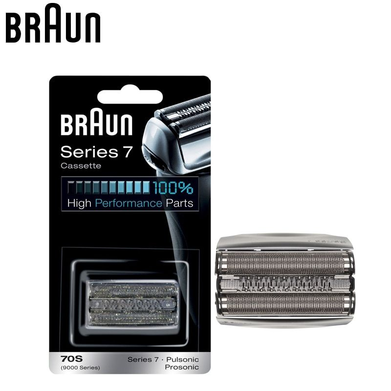 Braun 70S Razor Cassette Replacement for Series 7 Shavers Electric Razor blade Replacement head (720 760cc 790cc 9595 9781)