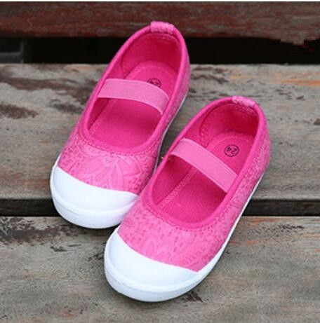 2018 spring and autumn new children's breathable mesh casual shoes