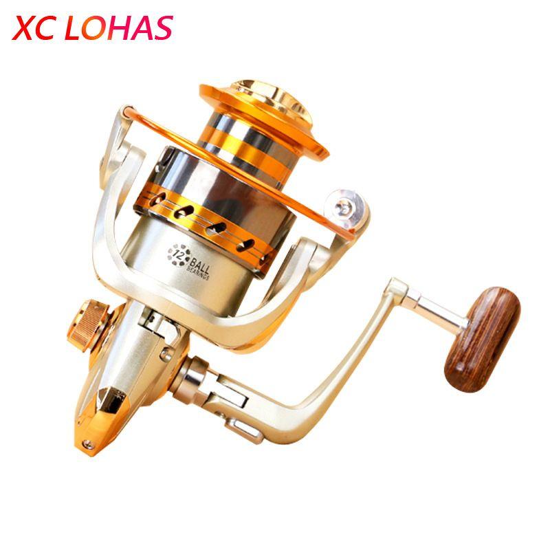 Most Cost-effective Metal Spinning Fishing Reel EF1000 2000 3000 4000 5000 6000 7000 Baitcasting Fishing Reel Sea Fishing Tackle