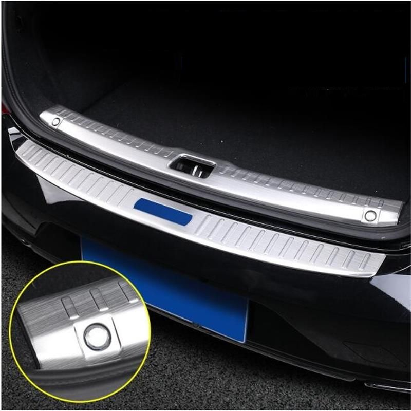 2017-2018 model for Volvo s90 modified rear guard plate s90 trunk guard plate s90 accessories stainless steel decorative pedal