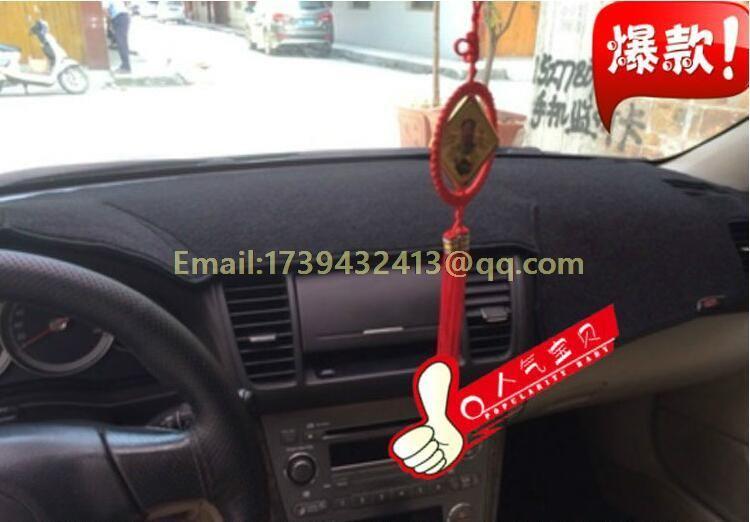 dashmats car-styling accessories dashboard cover for SUBARU Legacy B4 Liberty 2004 2006 2007 2008 2009 2014 2015 2016