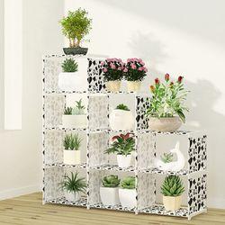 Multi-couche nontissés étagère Étagère De Rangement Montage Simple peut être enlevé Chambre Fleur pot rack