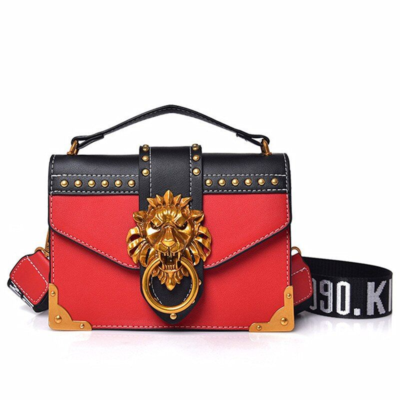 Korean Version Beautiful Classic Panelled Color Female Sweet Youth Girls Shoulder Bags Vintage Messenger Handbags Clutch Wallets