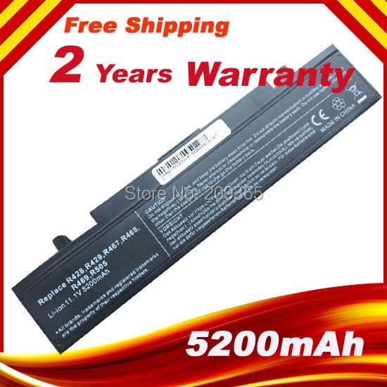 NEW Laptop battery for <font><b>Samsung</b></font> RV510 RV511 RV515 RV711 AA-PB9NS6B AA-PB9NC6W AA-PB9NC5B Black