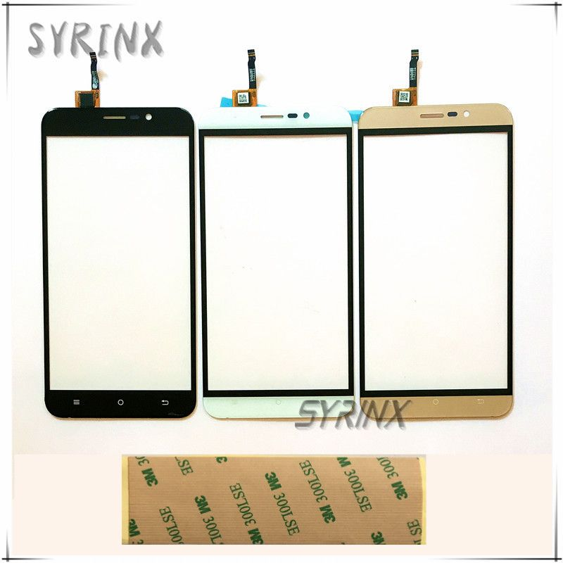 Syrinx 5.5 inch With 3M <font><b>Tape</b></font> Touch Screen For Cubot Dinosaur Touch Panel Digitizer Front Glass Lens Touchscreen Sensor Touchpad