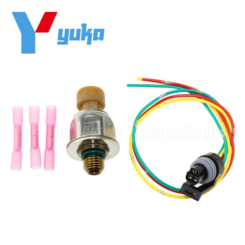 1845428C92 Original ICP Sensor For Ford E-350 E-450 F-250 F-350 F-450 F-550 6.0 6.0L 04-07 With Pigtail Connector Plug Kit