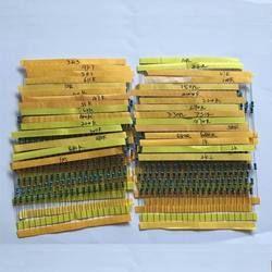 NOUVEAU 600 Pcs 30 Sortes Chaque Valeur Métal Film Résistance pack 1/4 W 1% résistance assorties Kit Ensemble 14-21