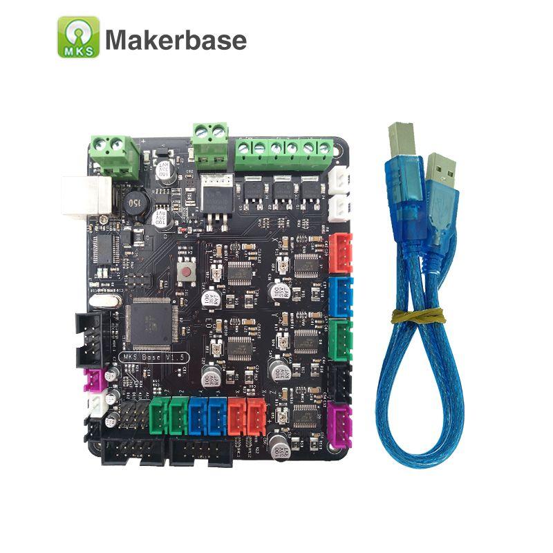 MKS BASE V1.6 3D printer components integrated motherboard compatible Mega 2560 & RAMPS 1.4 control board <font><b>RepRap</b></font> Mendel