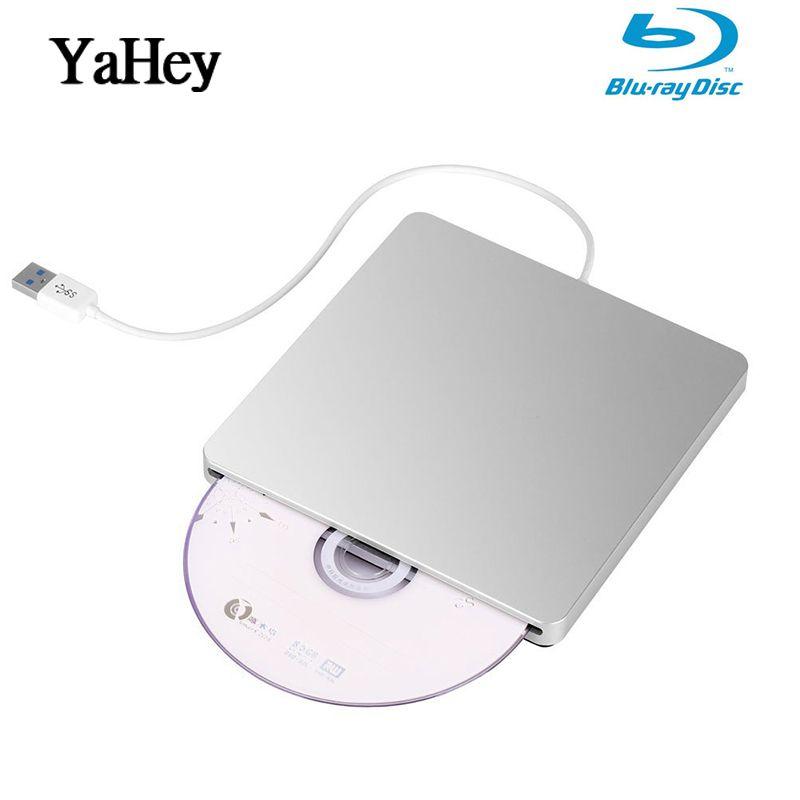 Schiff von Europa USB 3.0 Blu-ray BD-RW Player Slot Last Externe DVD Brenner Bluray Laufwerk DVD RW Schriftsteller für Apple Laptop computer