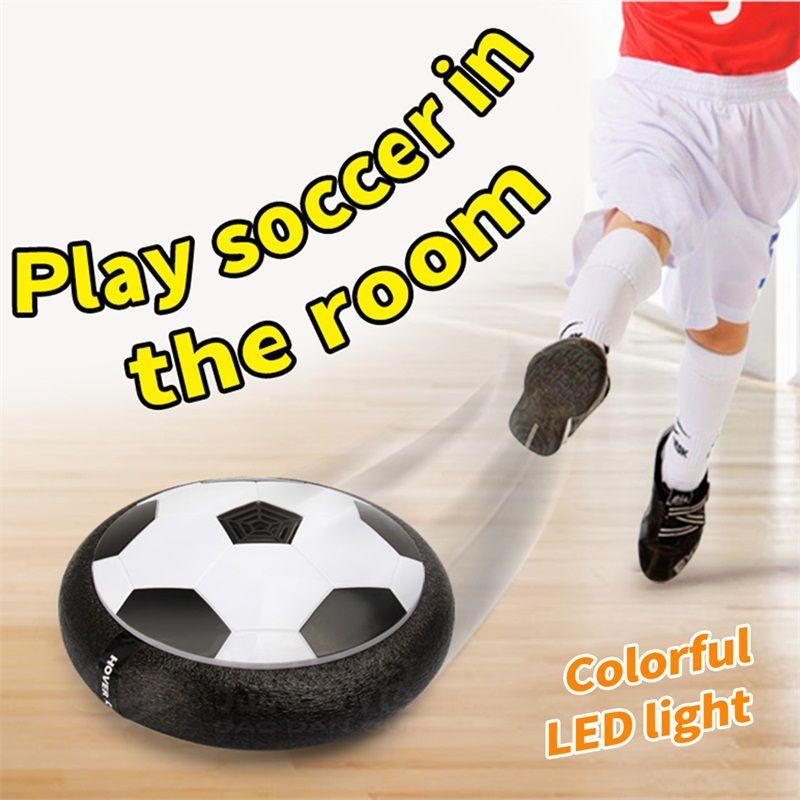 Air Power Fußball Disc Indoor Ourdoor Hover Fußball Led-beleuchtung Spielzeug Oberfläche Kinder Jungen Mädchen Sport Spielzeug ausbildung