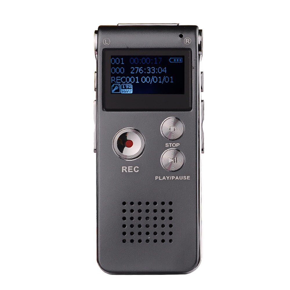 100% Newest 8GB Mini USB Voice Recorder Flash Digital Audio Voice Recorder 650Hr Dictaphone 3D Stereo MP3 Player