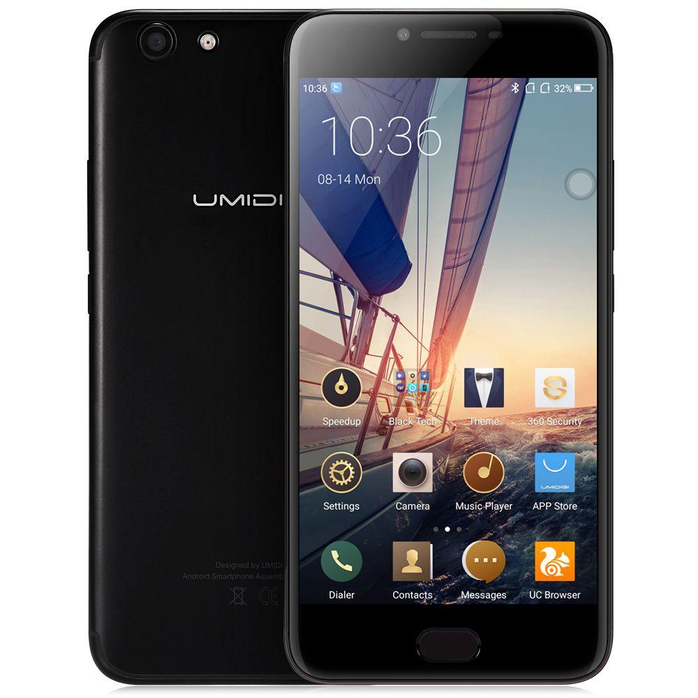 UMIDIGI C NOTE 2 4G Phablet MTK6750T Octa Core 1.5GHz 4GB RAM 64GB ROM 13.0MP + 5.0MP Cameras Front Touch Sensor 4000mAh Battery
