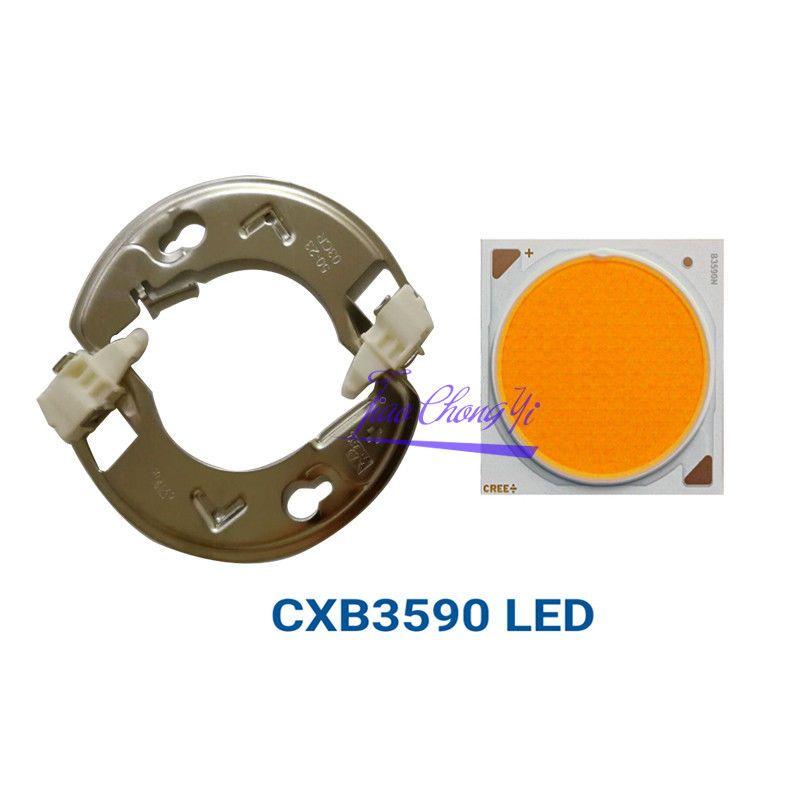 CREE COB CXB3590 Led Wachsen Licht Chip, volle Spektrum Warme Weiß 3500 karat COB Led Dioedes für DIY Pflanze Wachsen Lampe