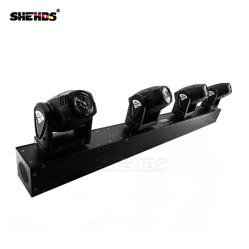 New Arrival 4x10W Head LED Beam Moving Head Lighting Bar DJ Lights,SHEHDS Stage Lighting