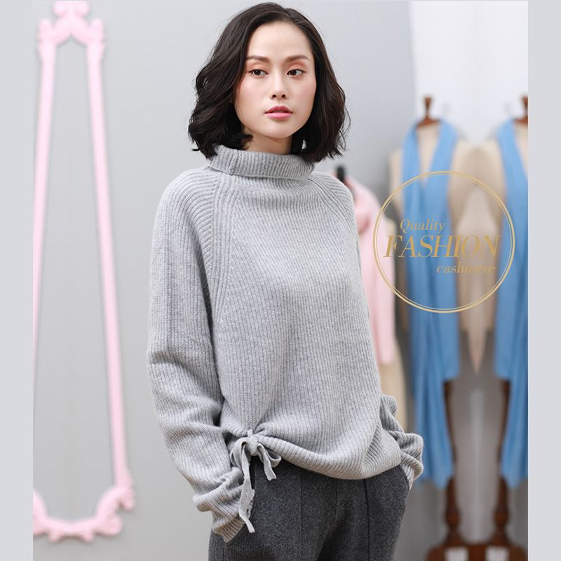 Womens Sweaters 2017 Women's Autumn Clothing 100% Cashmere Sweater Autumn Pure Color Women Pullover Sweater Knitting Cashmere