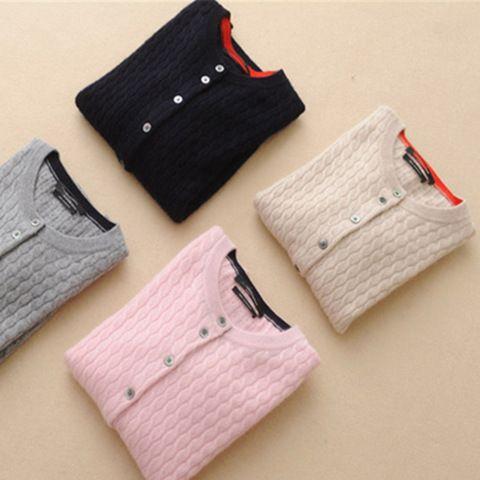 TAILOR SHEEP 2018 new cardigan women o-neck <font><b>cashmere</b></font> sweater wool cardigan female autumn winter sweater women knitted coat