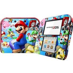 Mario Designs Vinyl Skin Sticker for 2DS Protector Cover Decal Vinyl Skin for Nintendo 2DS Skins Stickers For Nintendo Accessory