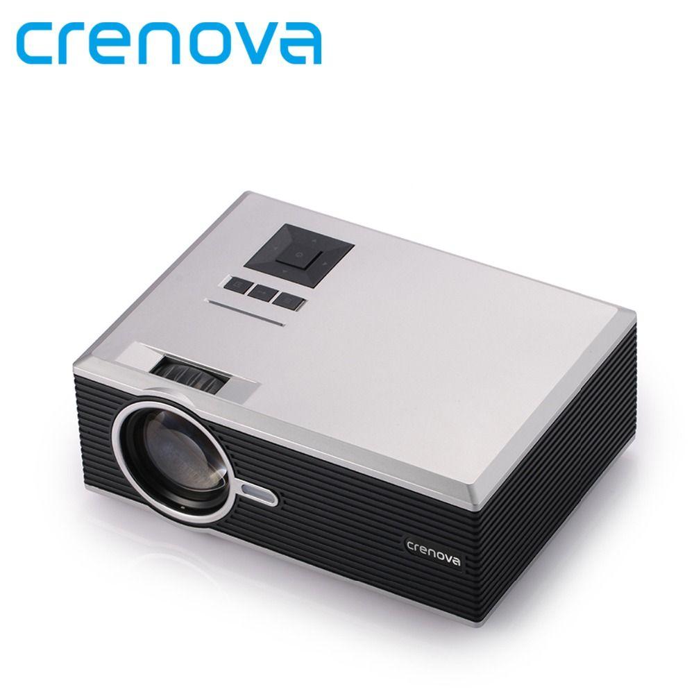 Crenova XPE470 Mini Projektor 130 ''Unterstützung HD 1080 P Video über SD karte HDMI VGA USB Stick für iPad iPhone für Amateurfilm