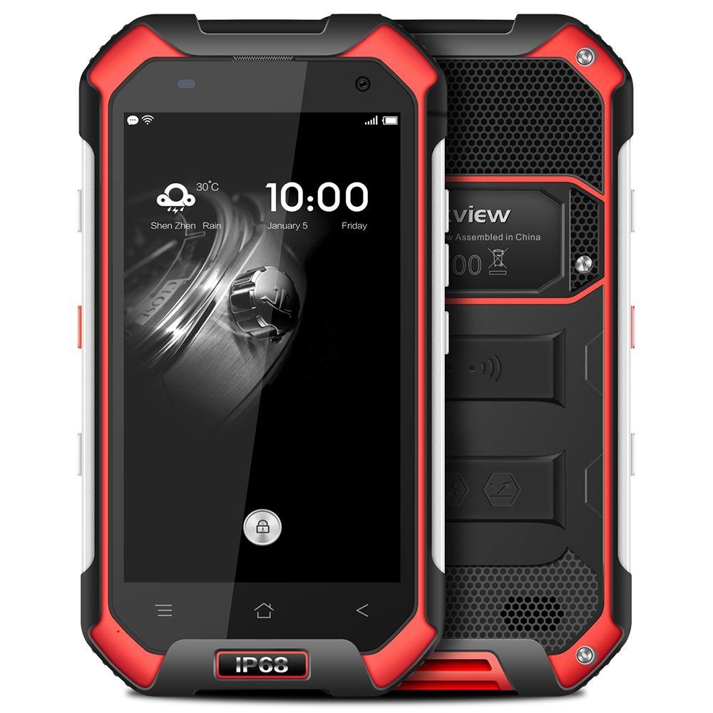 Blackview BV6000 4,7 zoll 4g IP68 Wasserdichte Staubdicht Smartphone Android 7.0 MTK6755 Octa Core 2,0 ghz 3 gb + 32 gb 5MP + 13MP Handys