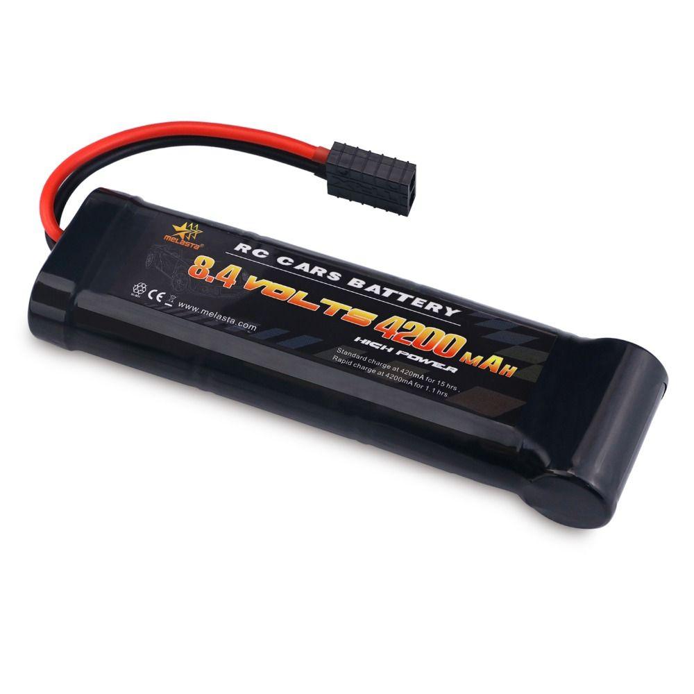 Melasta 8.4 v 4200 mah 7-Portable Flat Pack NiMH Batterie avec Traxxas Décharge Plug pour RC Voiture De Course jouets Passe-Temps